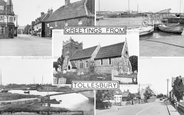 Photo of Tollesbury, Composite c.1955
