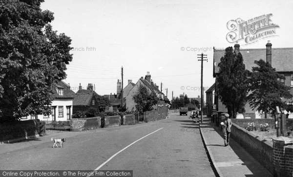 Photo of Tollesbury, East Street c.1950