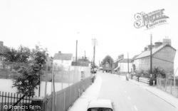 Tollesbury, East Street c.1960