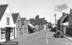 Tollesbury, High Street 1952