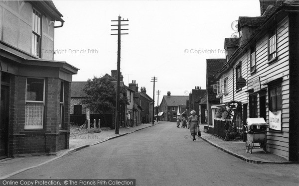 Photo of Tollesbury, High Street 1952