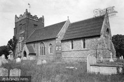Tollesbury, St Mary's Church c.1955