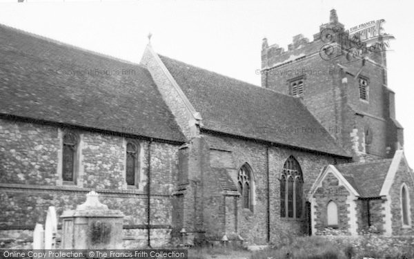 Photo of Tollesbury, St Mary's Church c.1955