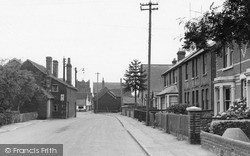 Tollesbury, Station Road c.1950