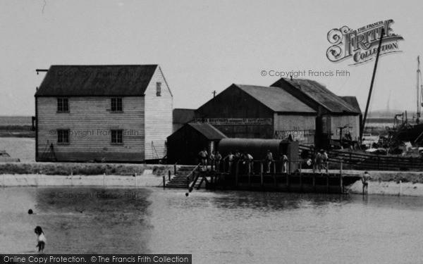 Photo of Tollesbury, Swimming Pool c.1960