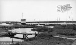 Tollesbury, The Creek c.1950