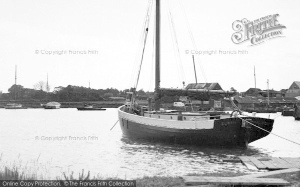 Photo of Tollesbury, The Creek c.1955