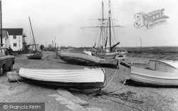 Tollesbury, The River Blackwater c.1965