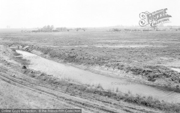 Photo of Tollesbury, The River c.1965