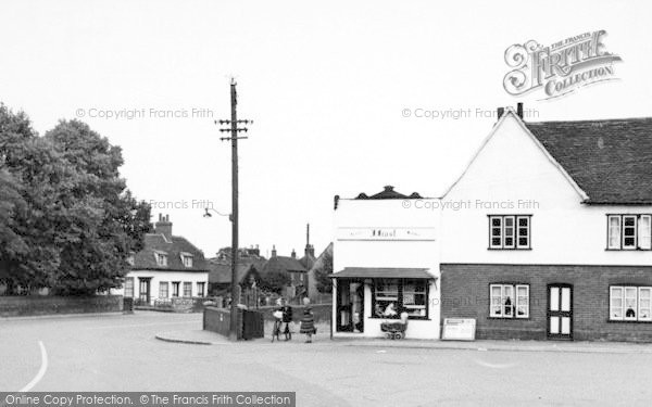 Photo of Tollesbury, The Square c.1955
