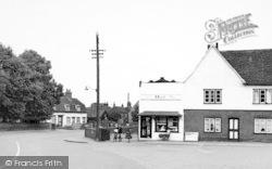Tollesbury, The Square c.1955
