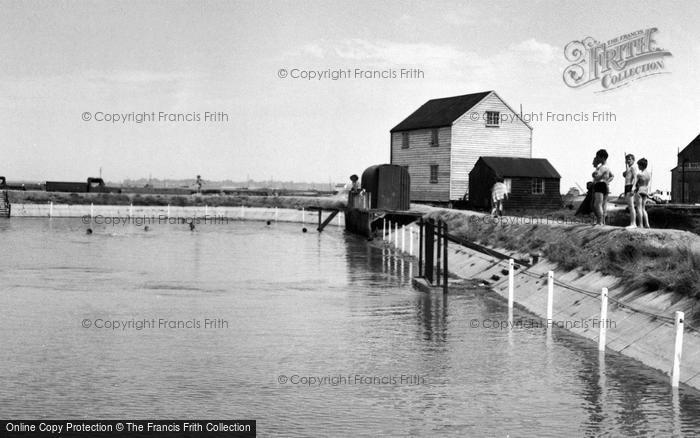 Photo of Tollesbury, The Swimming Pool c.1960