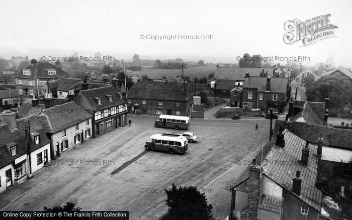 Photo of Tollesbury, View From The Church Tower c.1955