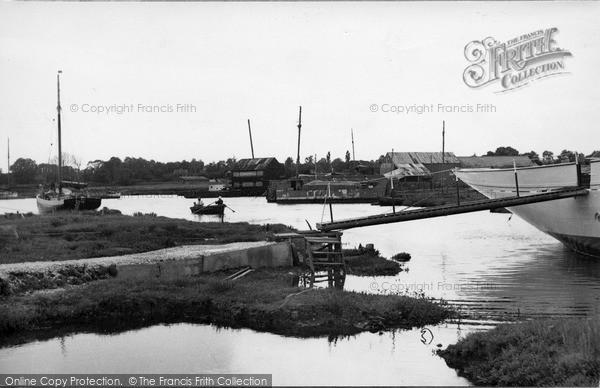 Photo of Tollesbury, Woodrolfe c.1950