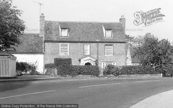 Photo of Tolleshunt D'arcy, Post Office, Maypole Square c.1960