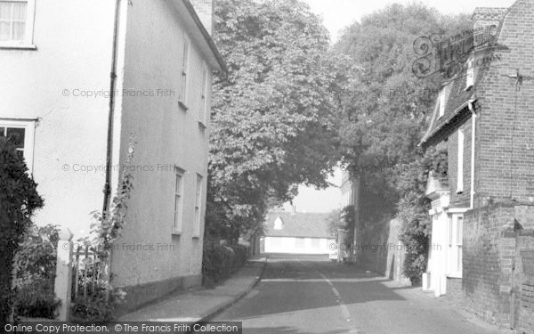 Photo of Tolleshunt D'arcy, South Street c.1960