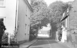Tolleshunt D'arcy, South Street c.1960