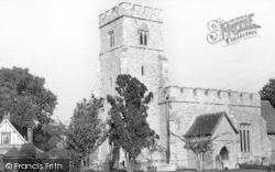 Tolleshunt D'arcy, St Nicholas Church c.1960