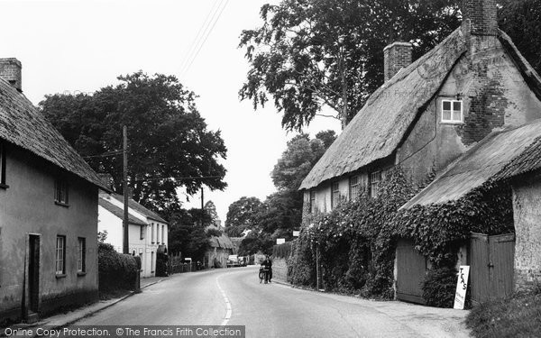 Photo of Tolpuddle, Main Street 1956
