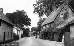 Tolpuddle, Main Street 1956