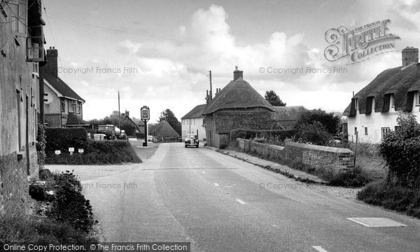 Photo of Tolpuddle, Main Street c.1955