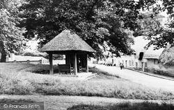 Tolpuddle, Martyrs Seat And The Village c.1960