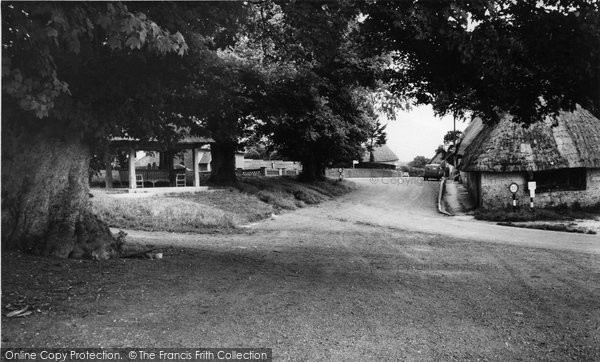 Photo of Tolpuddle, Martyrs Seat And Village c.1960
