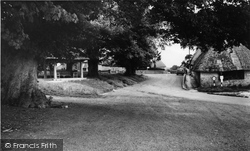 Tolpuddle, Martyrs Seat And Village c.1960
