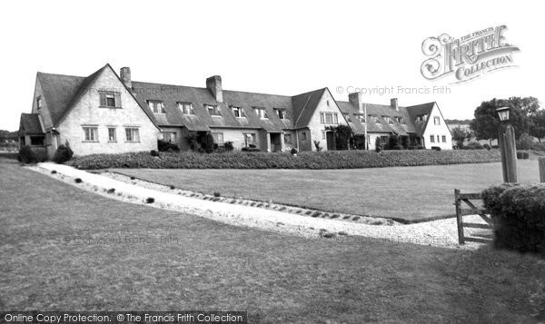 Photo of Tolpuddle, Memorial Cottages c.1955