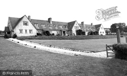 Tolpuddle, Memorial Cottages c.1955