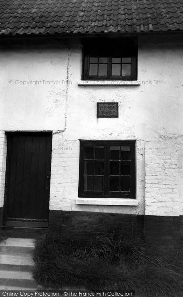 Photo of Tolpuddle, The Cottage Where The First Trade Union Met c.1960