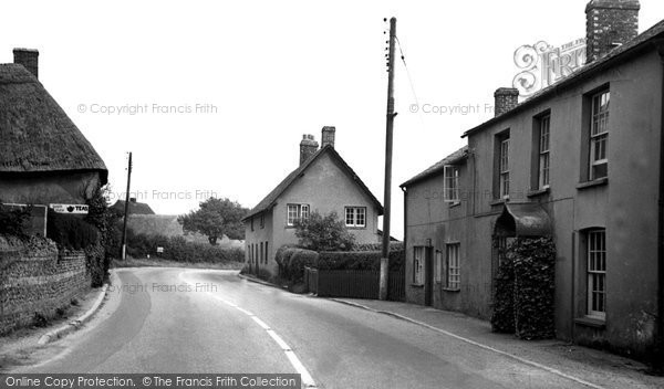 Photo of Tolpuddle, The Post Office c.1955