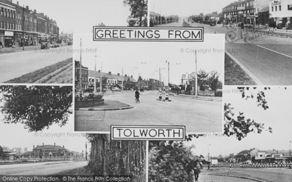 Photo of Tolworth, Composite c.1955