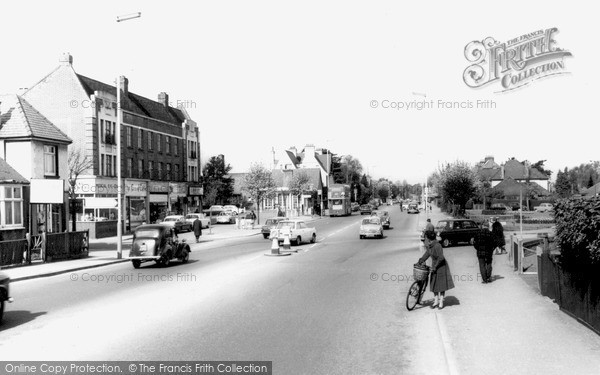 Photo of Tolworth, Ewell Road c.1965