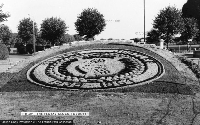 Photo of Tolworth, Floral Decoration c.1965