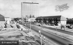 Kingston Road c.1965, Tolworth