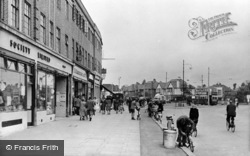 Tolworth, The Broadway c.1955