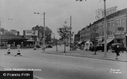 The Broadway c.1955, Tolworth