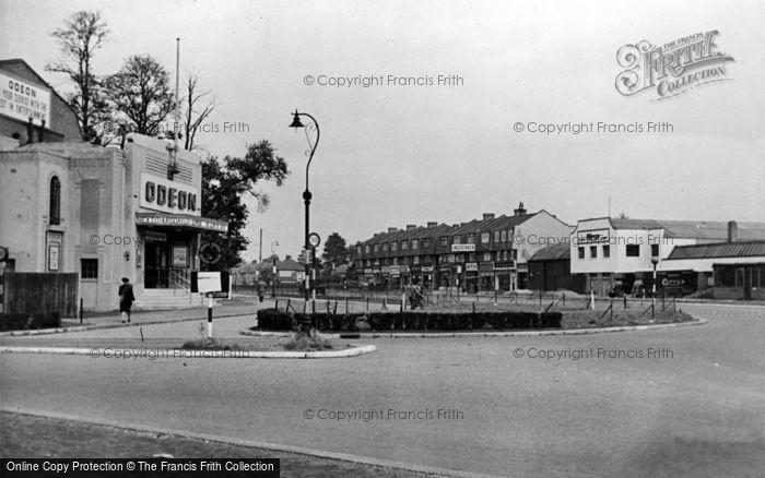 Photo of Tolworth, The Odeon Corner c.1950