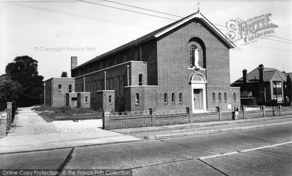 Photo of Tolworth, The Roman Catholic Church c.1960
