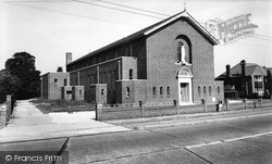 Tolworth, The Roman Catholic Church c.1960