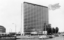 The Tower And Roundabout c.1965, Tolworth