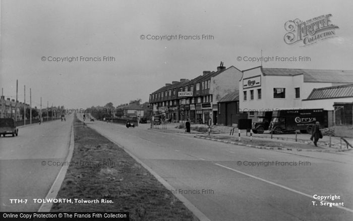 Photo of Tolworth, Tolworth Rise c.1955