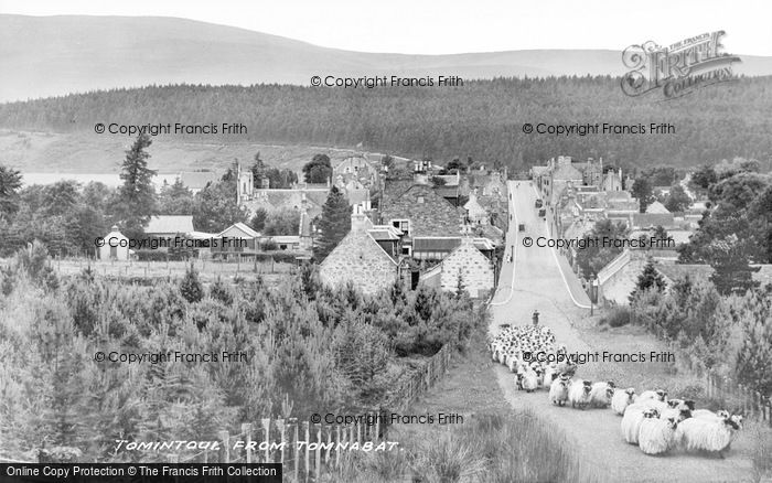 Photo of Tomintoul, Village From Tomnabat c.1939