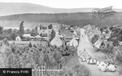 Tomintoul, Village From Tomnabat c.1939