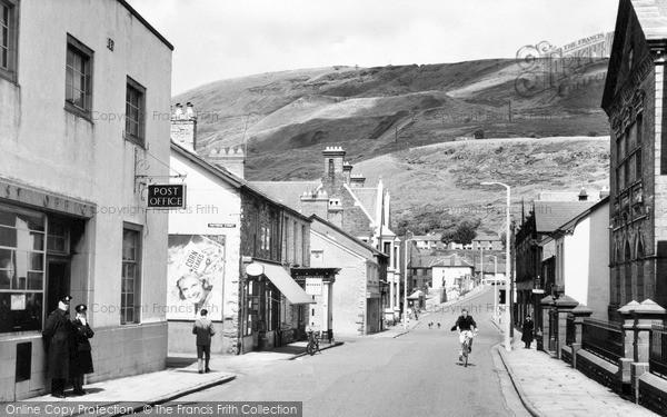 Photo of Ton Pentre, Church Road 1962