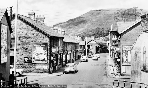 Ton Pentre, Church Road c1965