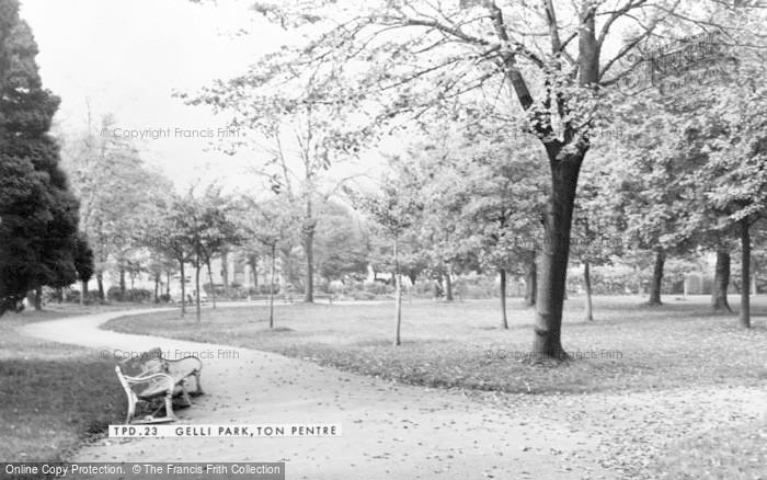 Photo of Ton Pentre, Gelli Park c.1965