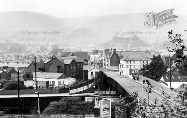 Photo of Ton Pentre, Rhondda Fawr Valley c.1965