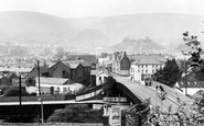 Ton Pentre, Rhondda Fawr Valley c1960